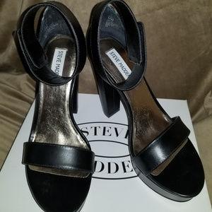 Steve Madden Platform Ankle Strap Shoes-New